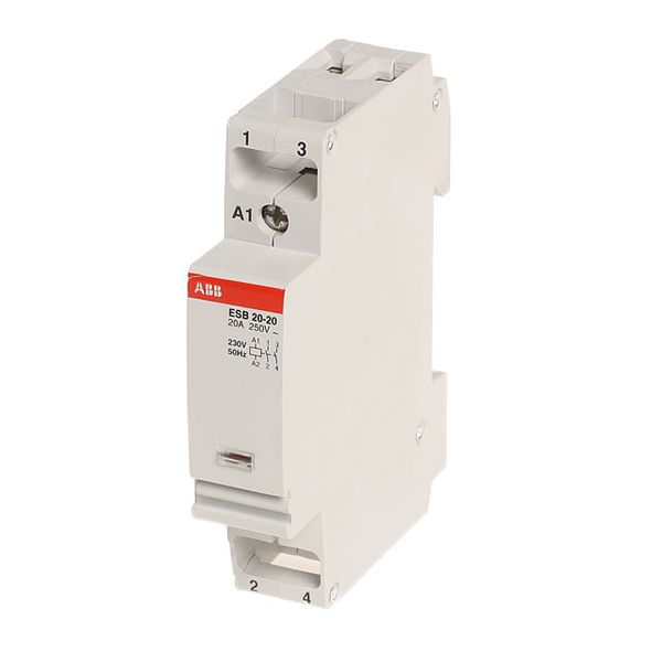 Esb20 esb24 esb40 esb63 installation contactors for Abb motor protection relay catalogue